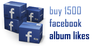 buy 1500 facebook album likes