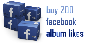 buy 200 facebook album likes