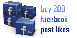 buy 200 facebook post likes