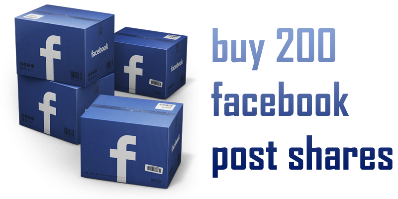 buy 200 facebook post shares