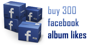 buy 300 facebook album likes