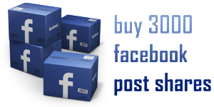 buy 3000 facebook post shares