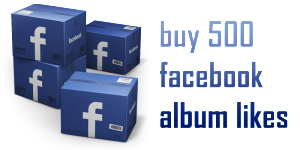 buy 500 facebook album likes