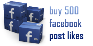 buy 500 facebook post likes