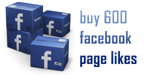 buy 600 facebook page likes