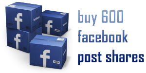 buy 600 facebook post shares