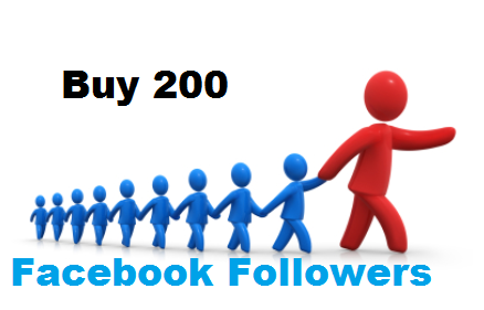 Buy 200 facebook followers