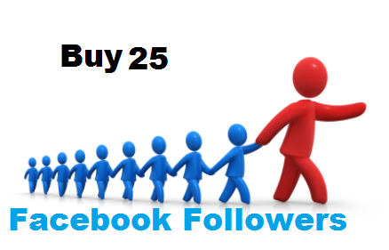 Buy 25 facebook followers