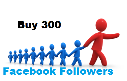 Buy 300 facebook followers
