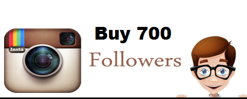 Buy 700 Instagram followers