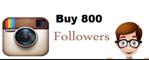 Buy 800 Instagram followers