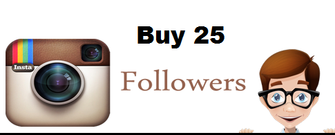Buy 25 Instagram followers